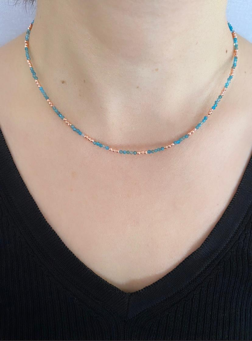 Apatite Necklace   RS1062